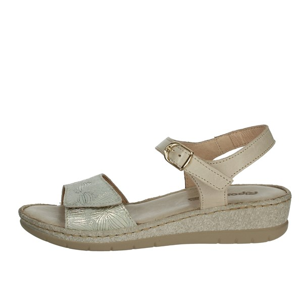 Riposella Shoes Sandals Platinum  6269
