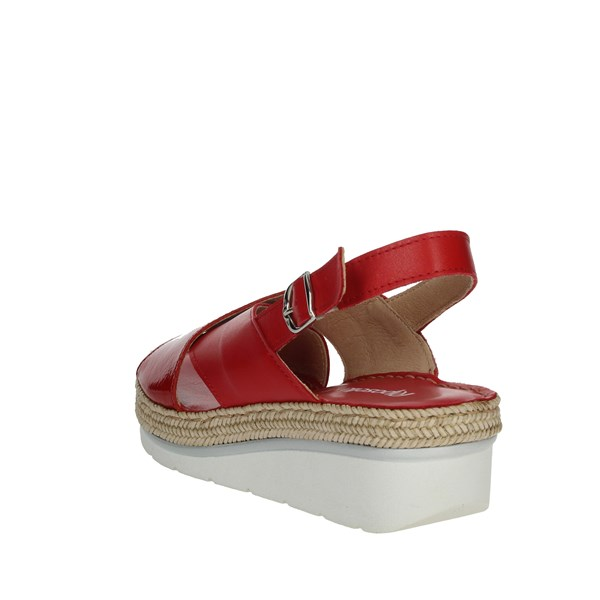 Riposella Shoes Sandals Red 10729