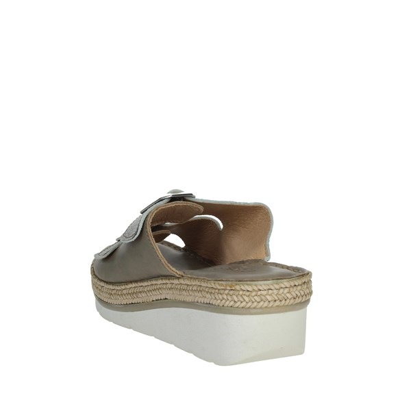 Riposella Shoes slippers dove-grey 10717