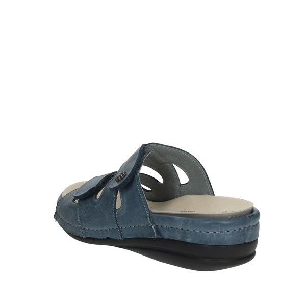 Riposella Shoes slippers Blue 9501