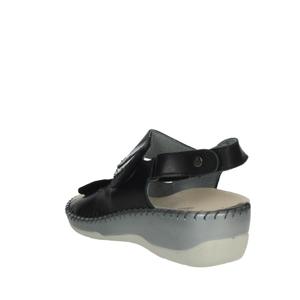 Riposella Shoes Sandals Black 6436