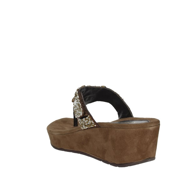 Riposella Shoes Flops Brown 93663