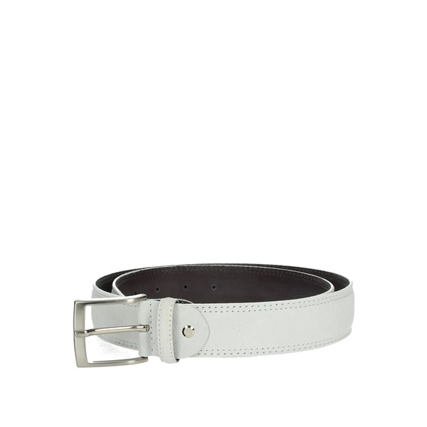 Cinture Artigianali Accessories Belts White CAMOSCIO