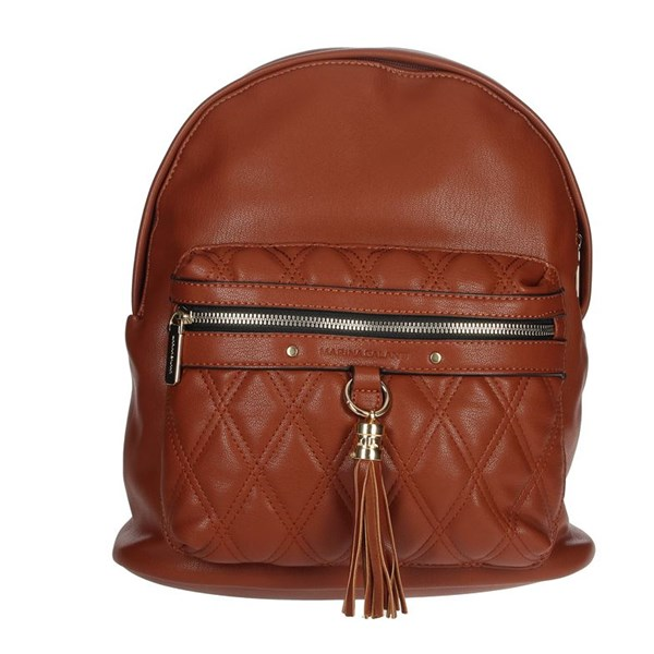 Marina Galanti Accessories Backpacks Brown leather MBPD0060BK2
