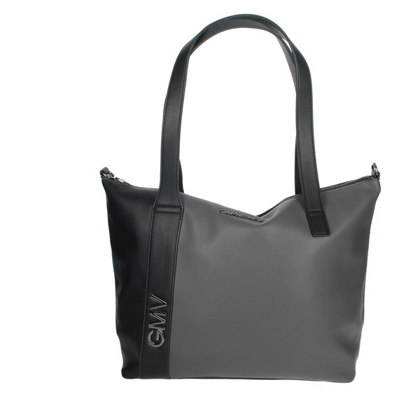 Gianmarco Venturi Accessories Bags Black/Grey GBPD0017SG3
