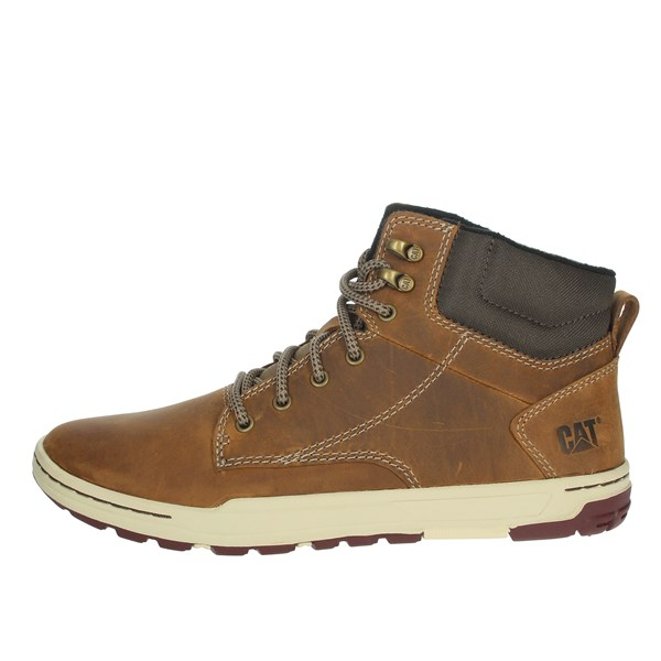 Caterpillar Shoes Comfort Shoes  Brown leather P716680
