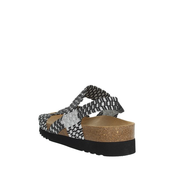 Scholl Shoes Sandals Black/Silver KAORY SANDAL