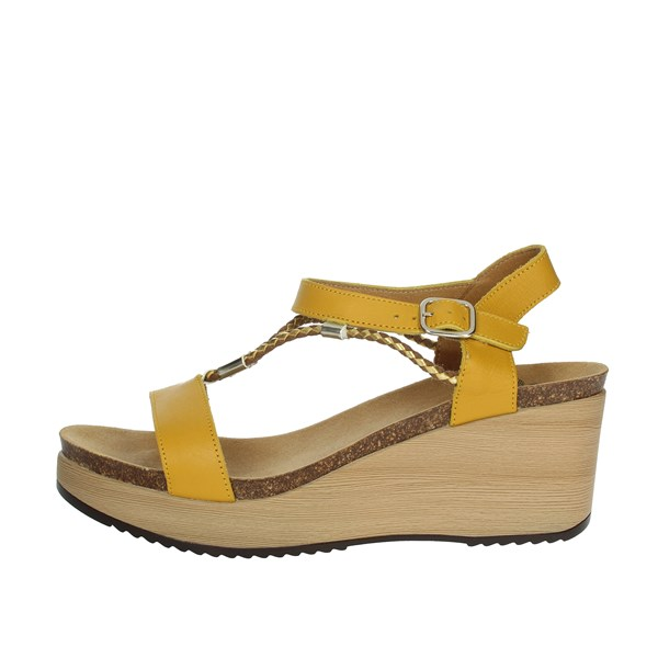 Scholl Shoes Sandals Mustard BLANCHE