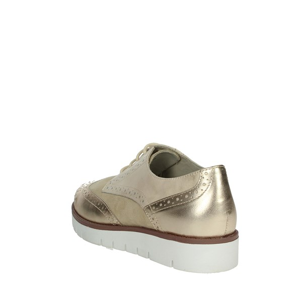 Scholl Shoes Brogue Beige VIRGINIA SUMMER