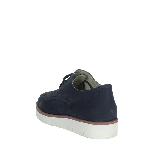Scholl Shoes Brogue Blue VIRGINIA SUMMER