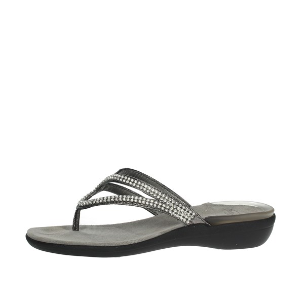 Scholl Shoes Flip Flops Black LULU