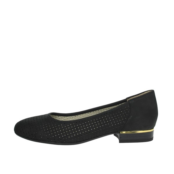 Scholl Shoes Ballet Flats Black CLORY