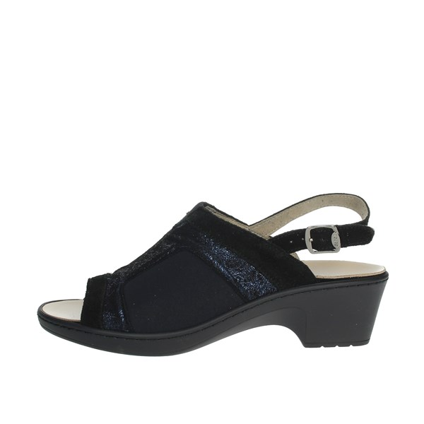 Scholl Shoes Sandals Black MANIOLA STRETCH