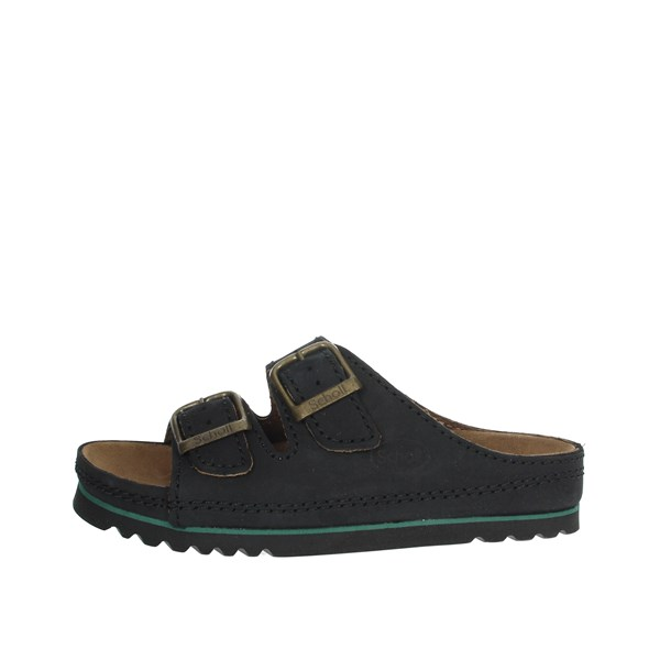 Scholl Shoes Clogs Black AIR BAG