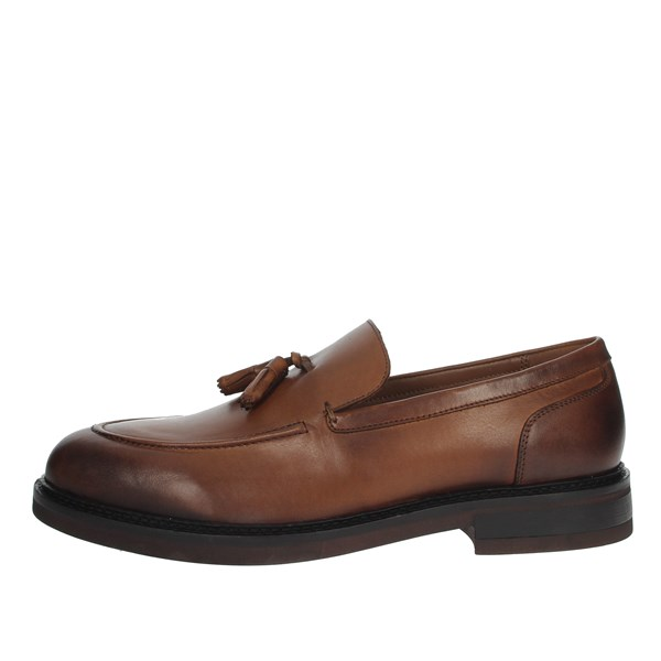 Pregunta Shoes Loafers Brown leather MIA702C