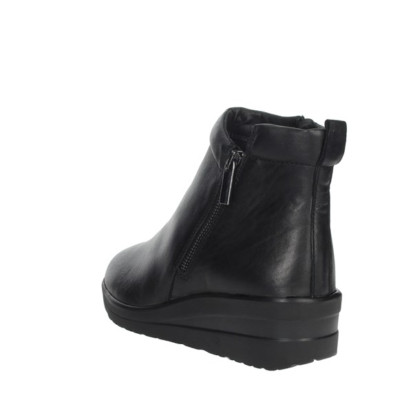 Cinzia Soft Shoes Ankle Boots Black IV11686-AM