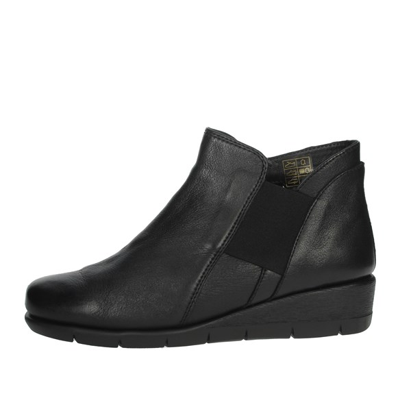 Cinzia Soft Shoes Ankle Boots Black IV11690-NS