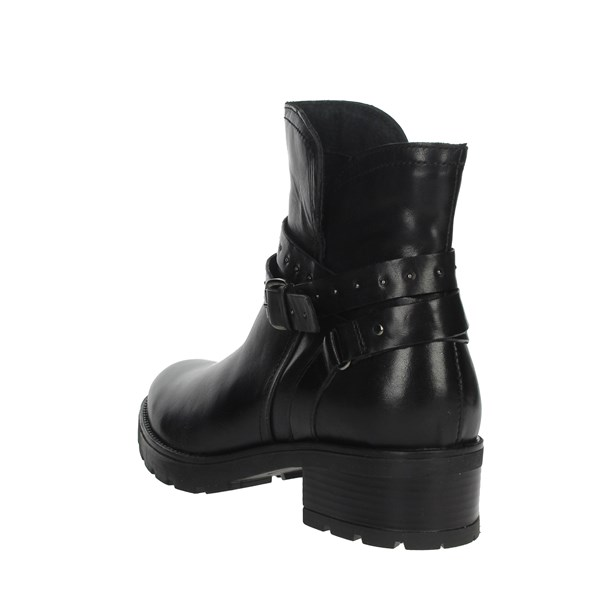 Cinzia Soft Shoes Ankle Boots Black PAF20306