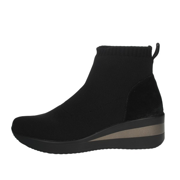 Cinzia Soft Shoes Ankle Boots Black MH180276