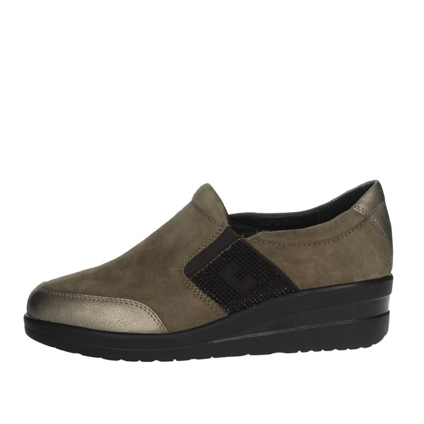 Cinzia Soft Shoes Sneakers Brown Taupe IV7371C-DS