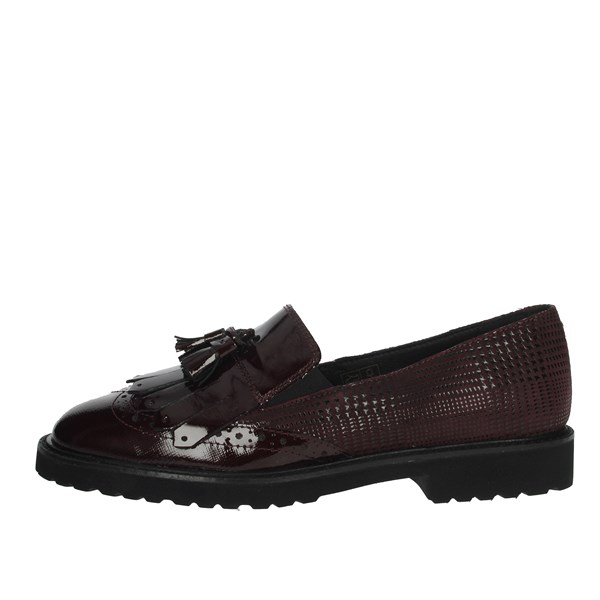 Cinzia Soft Shoes Brogue Burgundy IV7386-SVF