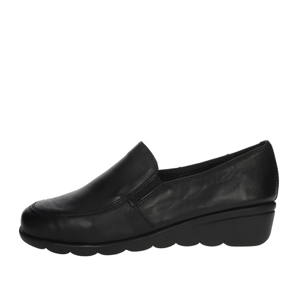 Cinzia Soft Shoes Loafers Black IV9170-MP