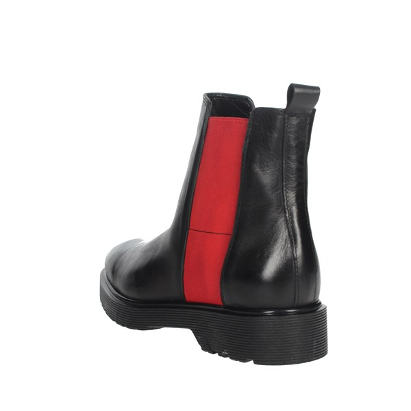 Pregunta Shoes Ankle Boots Black/Red IAL25914PE