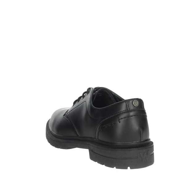Wrangler Shoes Brogue Black WM92051A