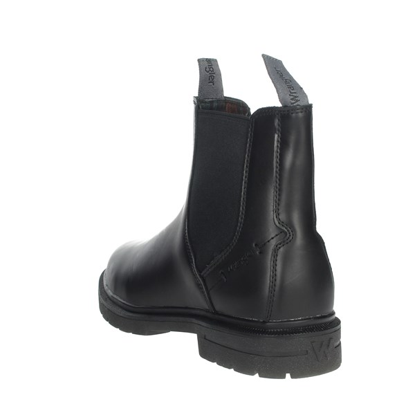 Wrangler Shoes Ankle Boots Black WM92050A