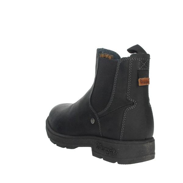 Wrangler Shoes Ankle Boots Black WM92040A