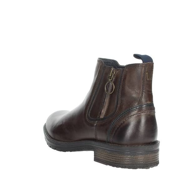 Wrangler Shoes Ankle Boots Brown WM92061A