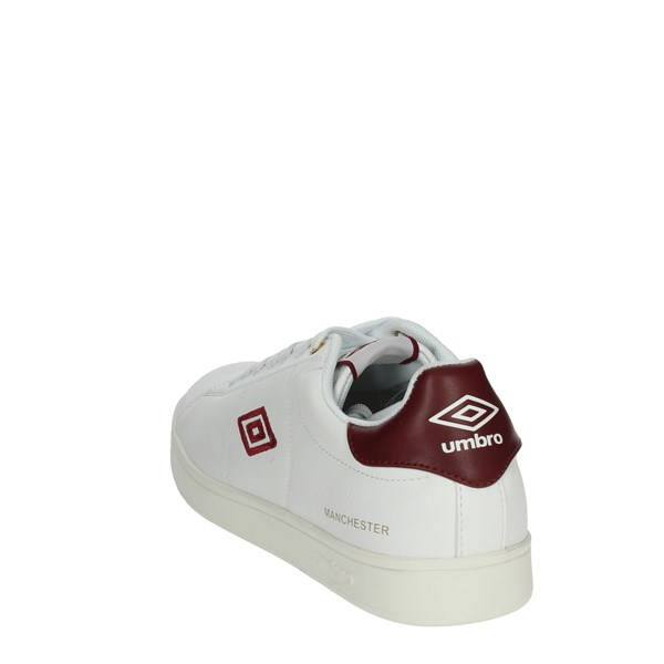 Umbro Shoes Sneakers White/Burgundy RFP38074S