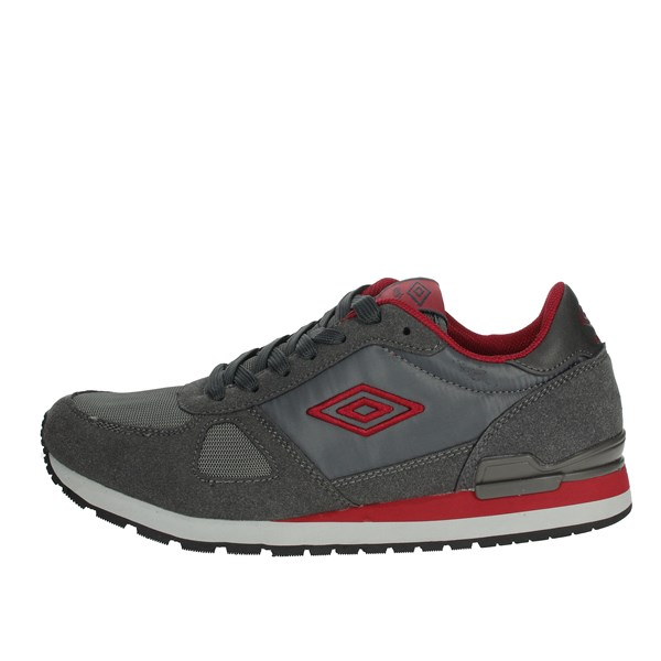 Umbro Shoes Sneakers Grey/Red RFP38062S