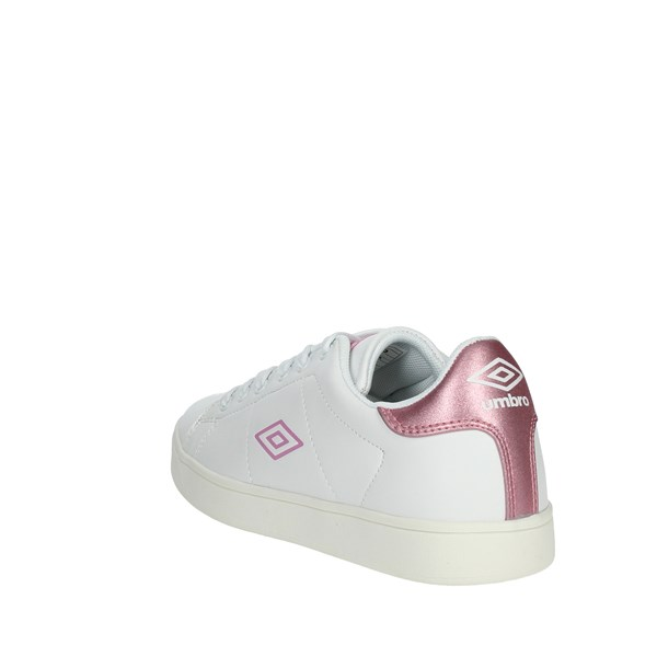 Umbro Shoes Sneakers White/Pink RFP37026S
