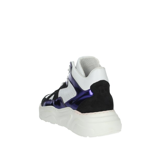 D.a.t.e. Shoes Sneakers White/Purple E20-189