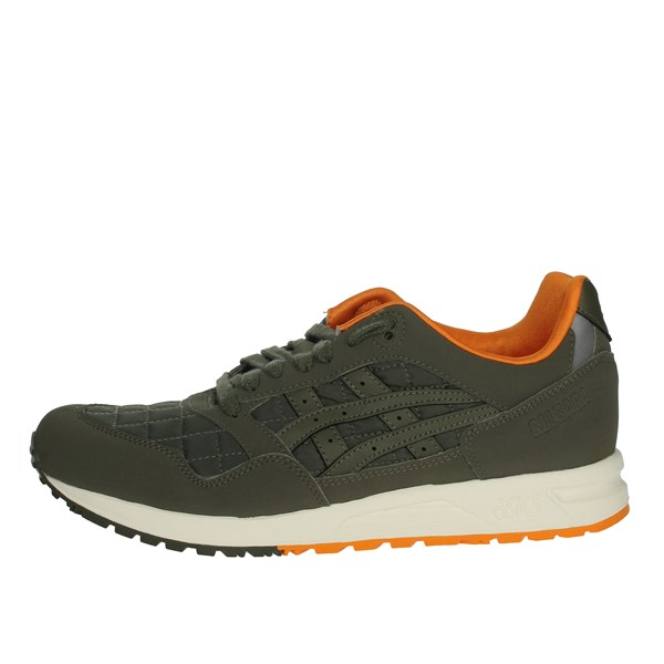 Asics Shoes Sneakers Dark Green 1191A187