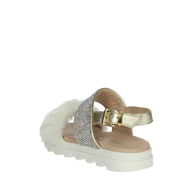 Florens Shoes Sandal Creamy white F5977