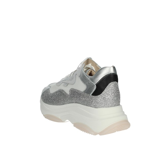 Florens Shoes Sneakers White/Silver F7588