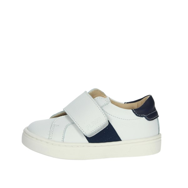 Florens Shoes Sneakers White/Blue U4551