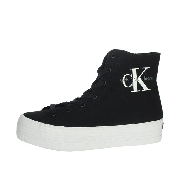 Calvin Klein Jeans Shoes Sneakers Black RE9245