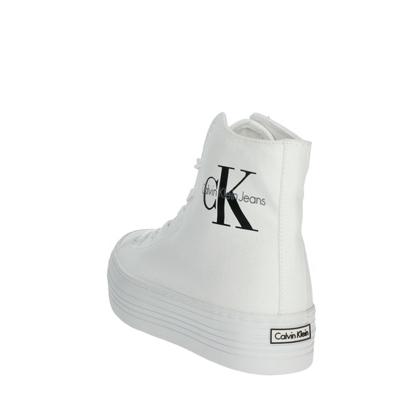 Calvin Klein Jeans Shoes Sneakers White RE9245