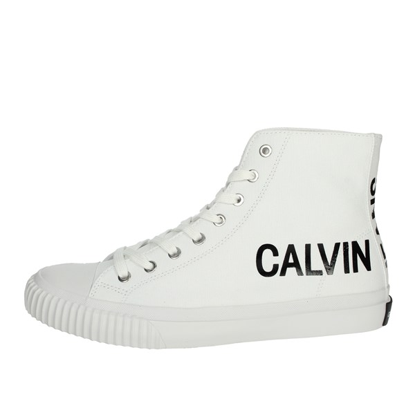 Calvin Klein Jeans Shoes Sneakers White S0597