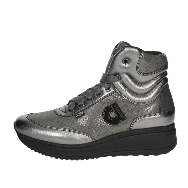 Agile By Rucoline  Shoes Sneakers Charcoal grey 1308