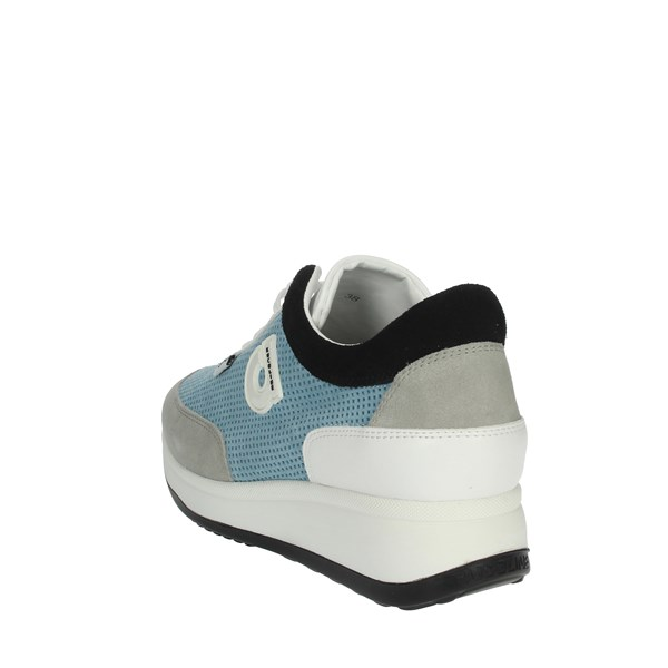 Agile By Rucoline  Shoes Sneakers Sky-blue/White 1304