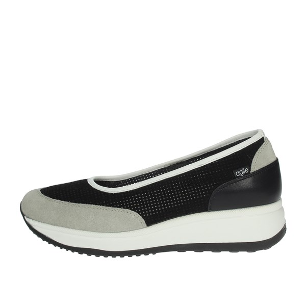Agile By Rucoline  Shoes Ballet Flats Black/White 1317