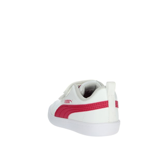 Puma Shoes Sneakers White/Pink 371544