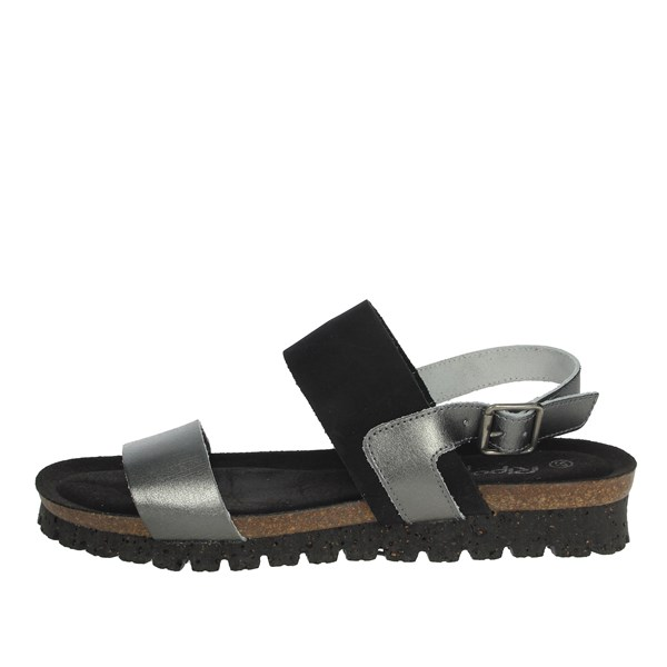 Riposella Shoes Sandals Charcoal grey C35
