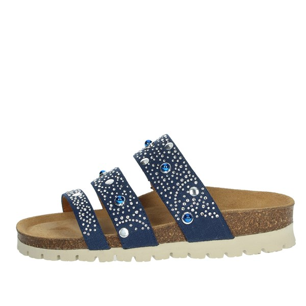Riposella Shoes Clogs Blue C86