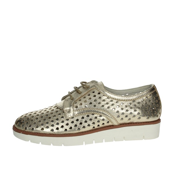 Riposella Shoes Brogue Platinum  C244