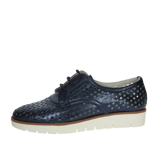 Riposella Shoes Brogue Blue C246